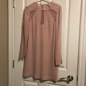 Bcbg pink day dress